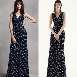 Vera Wang polka dots dress